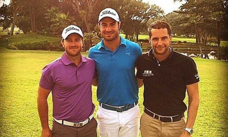 David Antonelli en tête avec deux autres joueurs à Casablanca
