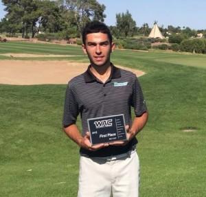En jouant 67 au dernier tour, Nicolas Platret a remporté son premier tournoi aux Etats-Unis.