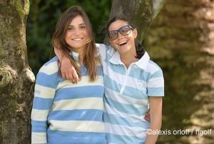 Anyssia Herbaut et Agathe Laisné occupent les cinquième et sixième places du Mérite.