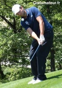 Paul Barjon a réussi quatre birdies et n'a concédé aucun bogey sur le parcours du Gold Mountain Golf Club.