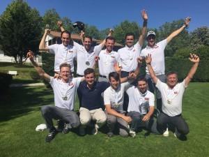 L'équipe de Pont Royal, cinquième de la qualification, a battu celle du Provençal pour accéder à la 3e division.