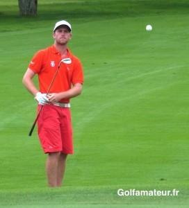Quatrième, Robin Sciot-Siegrist a gagné un play-off pour obtenir son billet pour le National en Floride.
