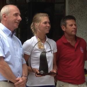 Camille Chevalier a remporté son troisième tournoi cet été en Savoie.
