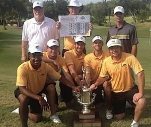 Léo Mathard et ses équipiers ont remporté leur tournoi, le Texas Intercollegiate.
