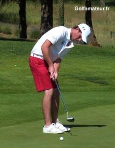 Robin Sciot-Siegrist (209) s'est classé troisième du DSG Collegiate Challenge Cup.