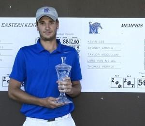 Thomas Perrot a remporté son premier tournoi aux Etats-Unis.