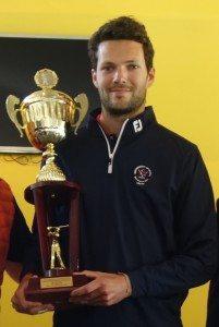 Grégoire Schoeb a remporté le Grand Prix de Bordeaux Lac avec un score de 210.