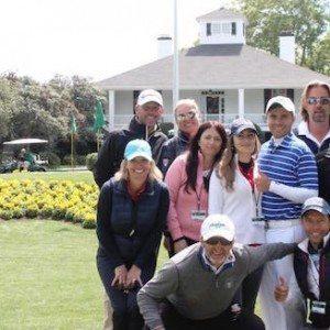 La merveilleuse semaine de Philippe Larvaron à Augusta
