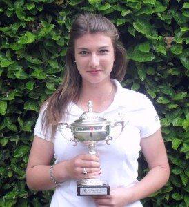Marie Pardi est rentrée à Lyon avec un troisième trophée.