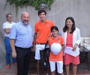 Antonia et Numa Carafe ont gagné dans la catégorie frères et soeurs.
