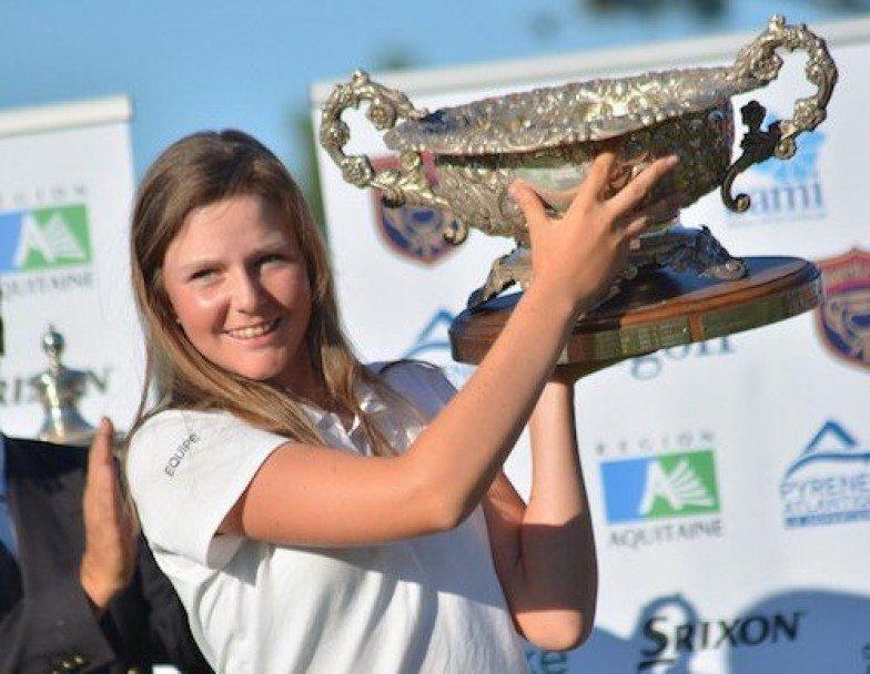 Biarritz Cup : Candice Mahé de bout en bout