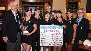 L'équipe de Stanford a remporté le Allstate Lugar Bowl Intercollegiate.