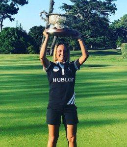 Lara Plachetka rêvait de remporter la Biarritz Cup. Elle y est parvenue à l'occasion de sa dernière participation.