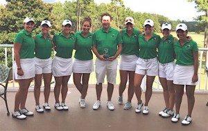 L'équipe d'Elise Genoux a remporté l'USA Collegiate en étant la seule à scorer sous le par (- 7).