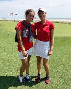 Charlotte Lafourcade et Laura Van Respaille ont disputé leur premier tournoi de la saison en Caroline du Sud.