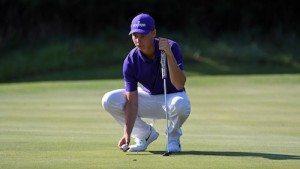 Pour son premier tournoi universitaire, Matthieu Caron s'est classé à la vingt-cinquième place.