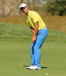 François Lagraulet a pu compter sur un très bon putting sur les greens du Milburn Golf & Country Club.