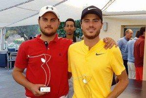 Louis Darthenay et Lucas Lévy ont offert un doublé à leur club de Frégate.