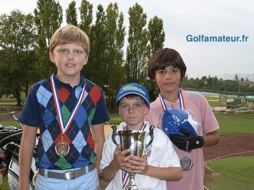 Dylan Allen et Lucie Malchirand lauréats des Trophées du Jeune Golfeur