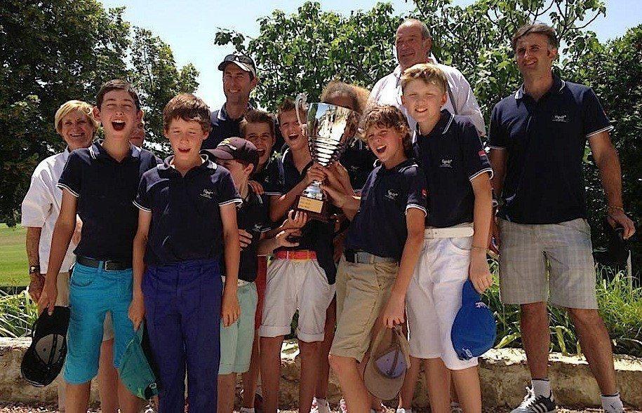 Les moins de 13 ans provençaux vainqueurs au Luberon